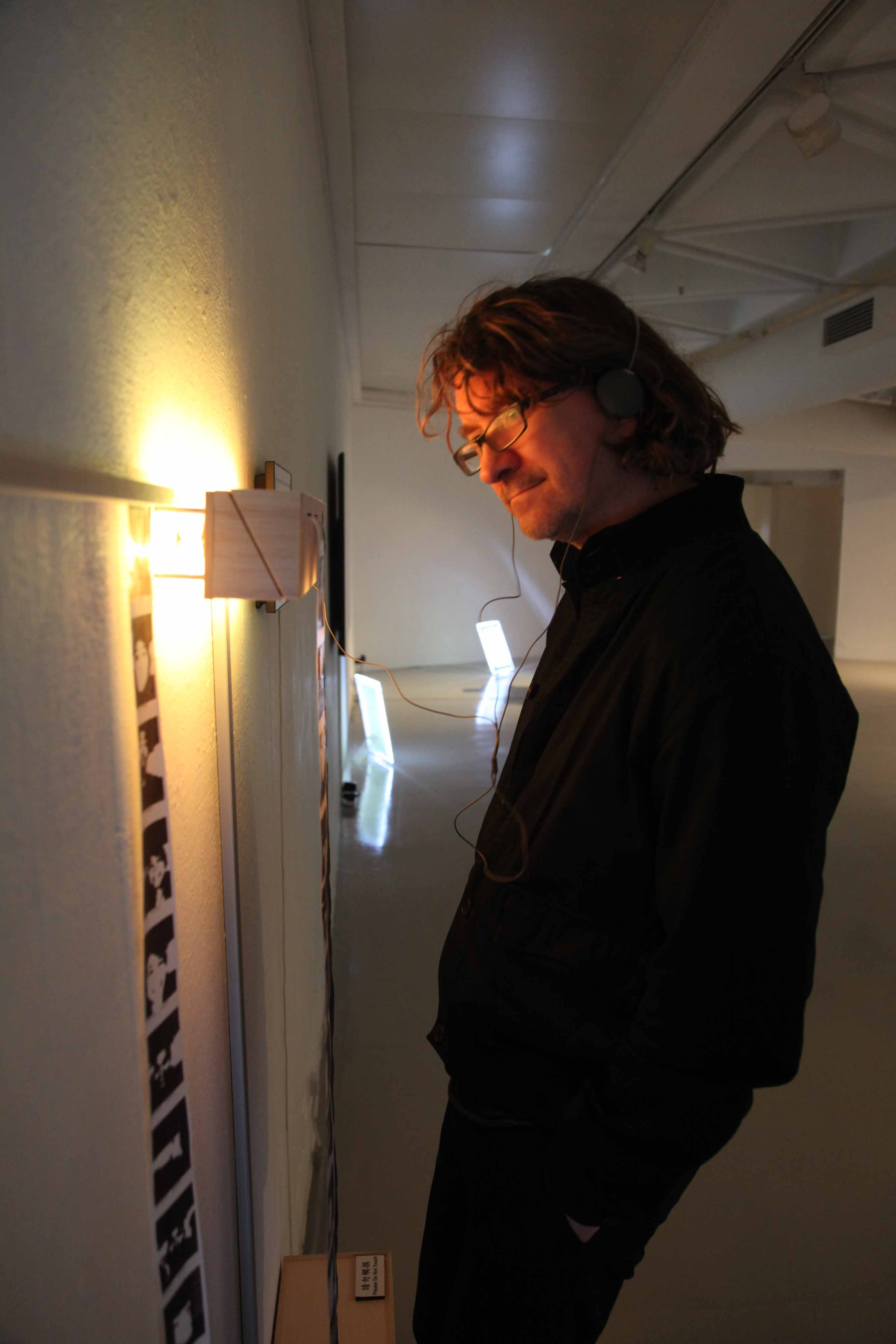 Kevin McCoy participated in one of the finalist work, <i>Time Axis</i>
