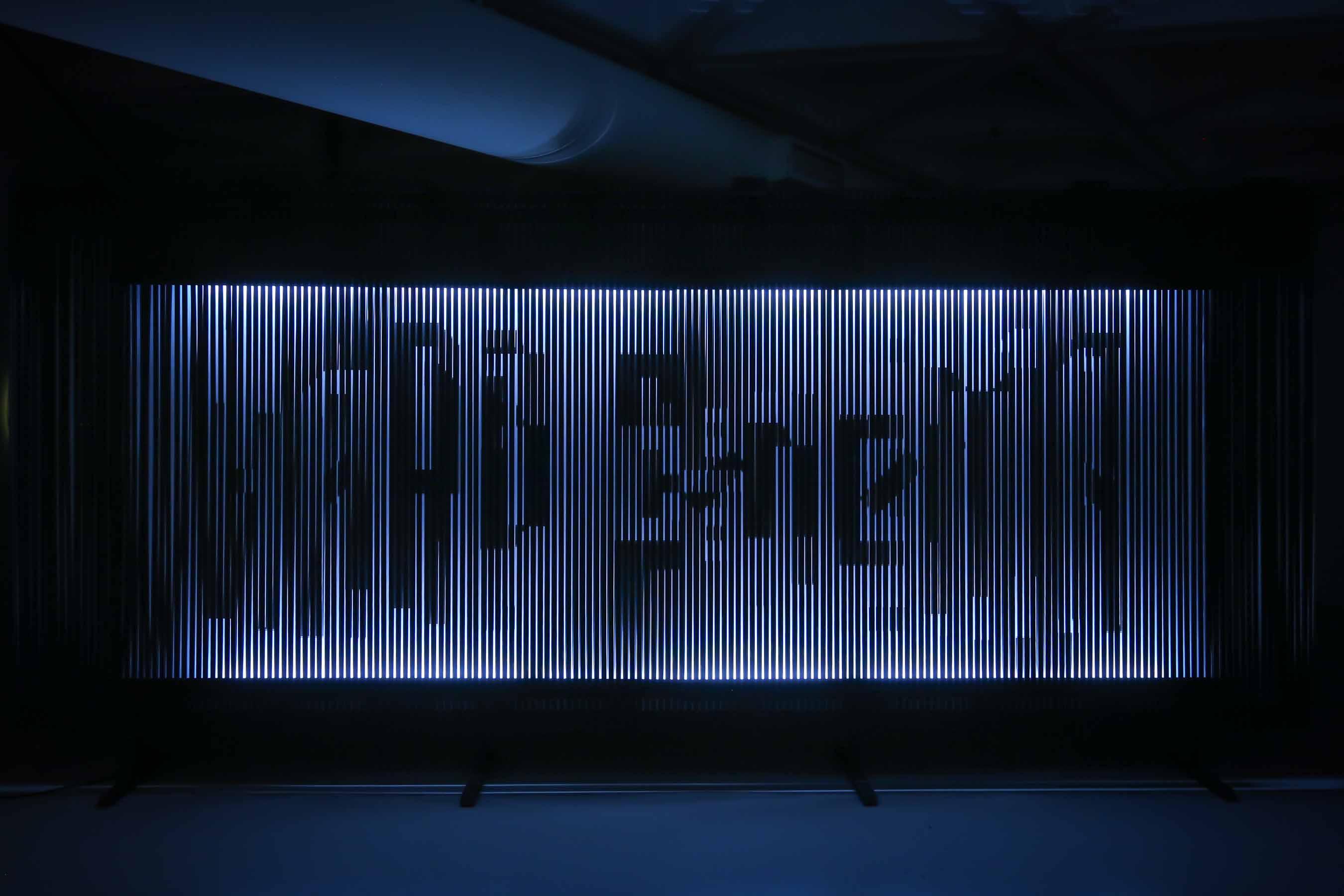 XCEED 創作的空間設計,以電影拍攝的機械學及過程為概念,回應媒體藝術展「硬電影 」的主題。